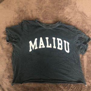 Brandy Melville Malibu Cropped T-shirt